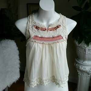 Free People boho top size extra small